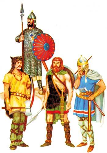 Les invasions barbares et la chute de l 39 empire romain - Le grill des barbares ...