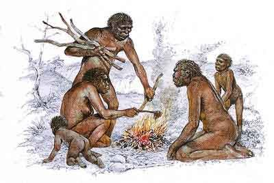 homme prehistorique